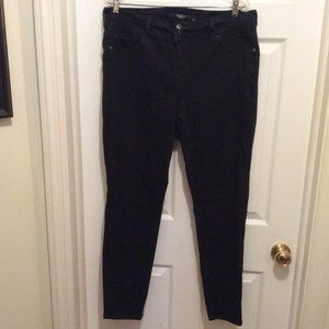 Torrid Jegging 18T Muted Black Faux Pockets Stretch